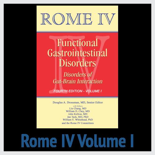 Rome IV Volume I