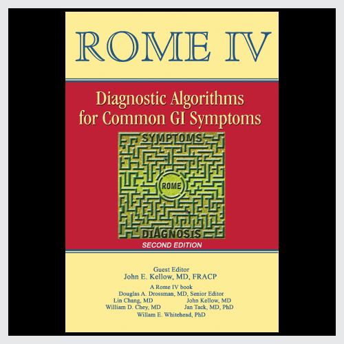 Rome IV Diagnostic Algorithms for Common GI Symptoms (Second Edition)