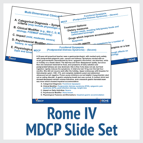 Rome IV MDCP Slide Set