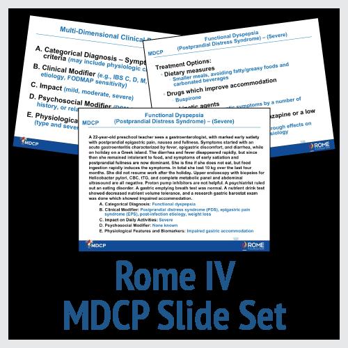 Rome IV MDCP Slide Set