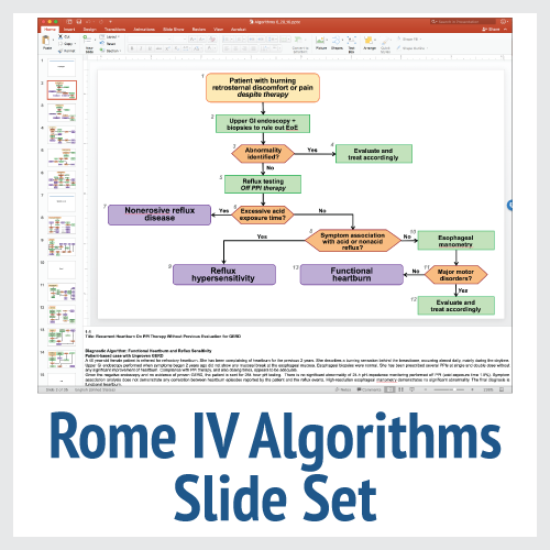 Rome IV Diagnostic Algorithms Slide Set