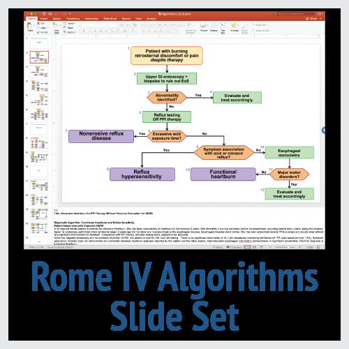 Rome IV Diagnostic Algorithms Slide Set
