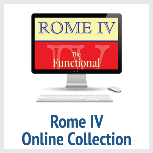 Rome IV Online Collection (All Six Rome IV Books Online)